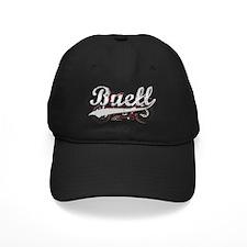 Buell_Script_dark Baseball Hat