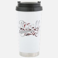Buell_Script_dark Stainless Steel Travel Mug