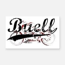 Buell_Script Rectangle Car Magnet