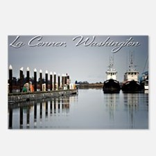 Boats of La Conner © AD  Postcards (Package of 8)