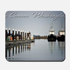 Boats of La Conner © AD Richards 006 LC Mousepad