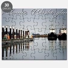 Boats of La Conner © AD Richards 006 LC Puzzle