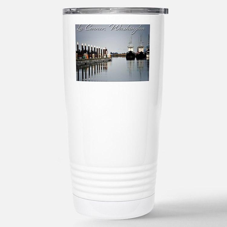 Boats of La Conner Ac AD Richar Travel Mug