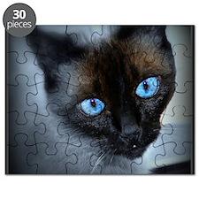 Blue Eyed Kitten Puzzle