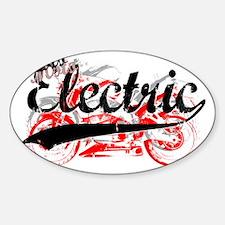Moto Electric Script copy Decal
