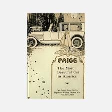 1917 Paige Rectangle Magnet