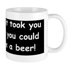 Beer in the timebuttond Mug