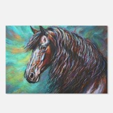 Zelvius the Friesian hors Postcards (Package of 8)