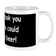 Beer in the timedbutton Mug