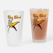 Big bird Drinking Glass