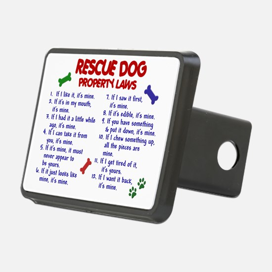 D RESCUE DOG PL2 Hitch Cover