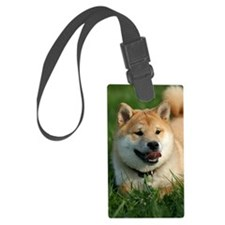 shiba_journal4 Luggage Tag
