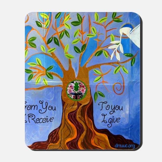 tree for joyce Mousepad