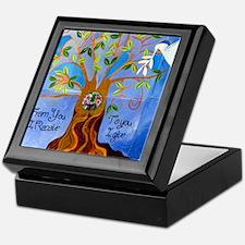 tree for joyce Keepsake Box