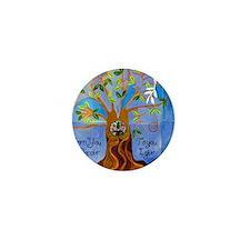 tree for joyce Mini Button