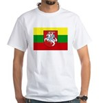 Lithuania w/ coat of arms White T-Shirt