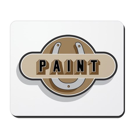 American Paint Horse Mousepad