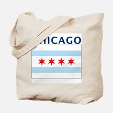 Chicago Flag Gear Tote Bag