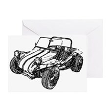 dune buggy pencil Greeting Card