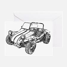 dune buggy pencil Greeting Card