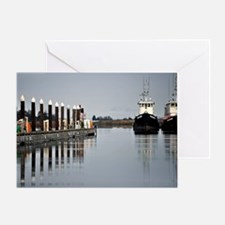Tugs of La Conner © AD Richards 006 Greeting Card