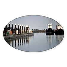 Tugs of La Conner © AD Richards 006 Decal