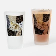 flugelhorn-ornament Drinking Glass