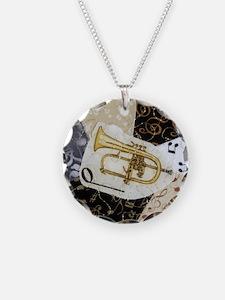 flugelhorn-ornament Necklace Circle Charm