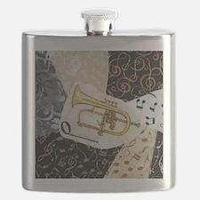 flugelhorn-ornament Flask