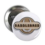 American Saddlebred Horse Button