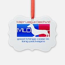 MLD Daschund Ornament