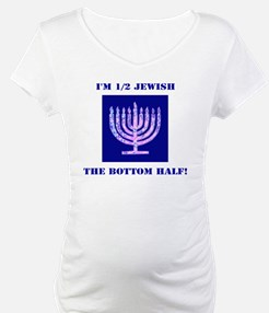 Funny Half Jewish the Bottom 1/2 Shirt