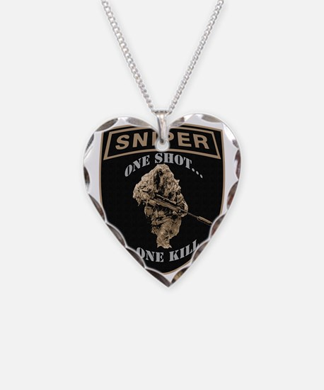 sniperpatch2.gif Necklace Heart Charm
