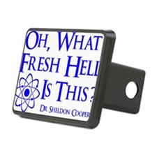 blue, Fresh Hell, unfortun Hitch Cover