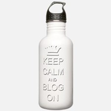 KC Blog b Water Bottle