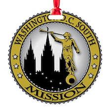 Washington D.C. South LDS Mission A Ornament
