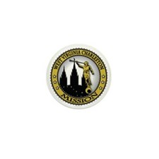 West Virginia Charleston LDS Mission A Mini Button