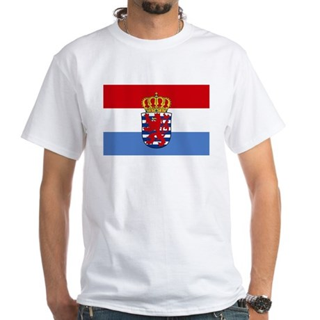 Luxembourg w/ coat of arms White T-Shirt