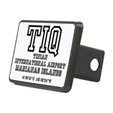 AIRPORT CODES - TIQ - TINI Hitch Cover