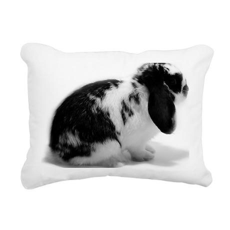 Comet side profile Rectangular Canvas Pillow