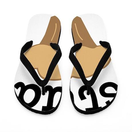 2011-12-14_Valentines-StudMuffin Flip Flops