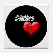 Native-Honu Tile Coaster