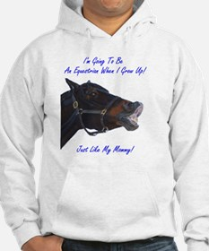 equestrian_mommy_infant_apparel Hoodie