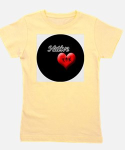 Native-Worriors Girl's Tee