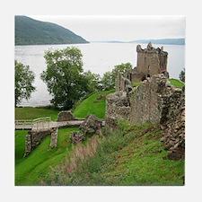 Urquhart Castle Tile Coaster