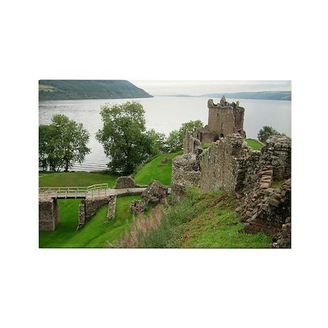 Urquhart Castle Rectangle Magnet