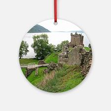 Urquhart Castle Round Ornament