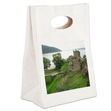 Urquhart Castle Canvas Lunch Tote