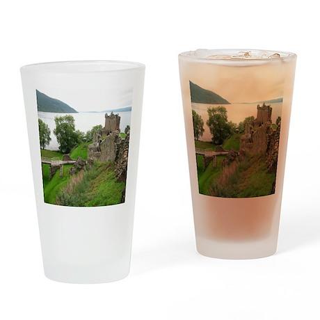 Urquhart Castle Drinking Glass