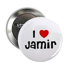 """I * Jamir 2.25"""" Button (10 pack)"""